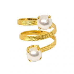 Δαχτυλίδια D9133-Χρυσό- επιμετάλλωση